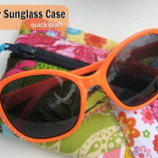 funky sunglass case - the sewing loft