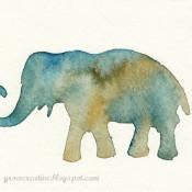 senciled watercolor - grow creative