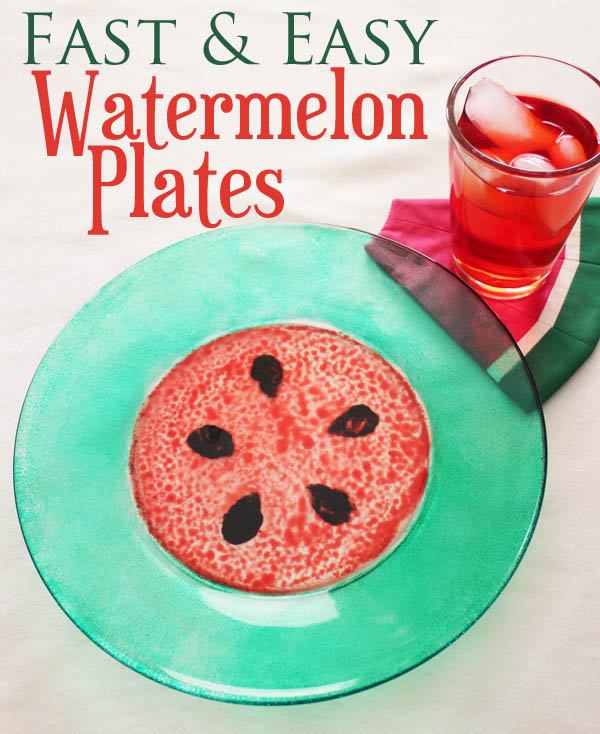 Fast and Easy Watermelon Plates