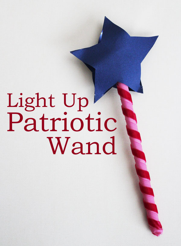 Light Up Patriotic Wand
