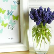 Paper butterfly art - grow creative blog