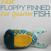 fast floppy finned fat quarter fish