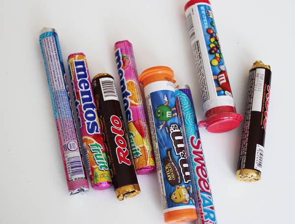 pick round candies