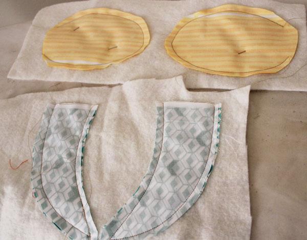 stitched fins