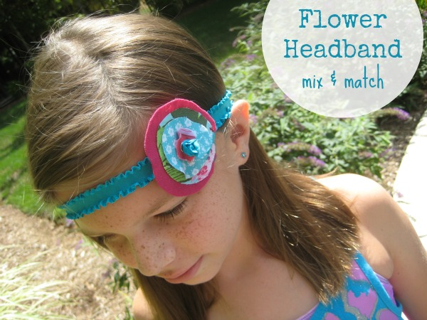 Flower-headband- at the sewing loft