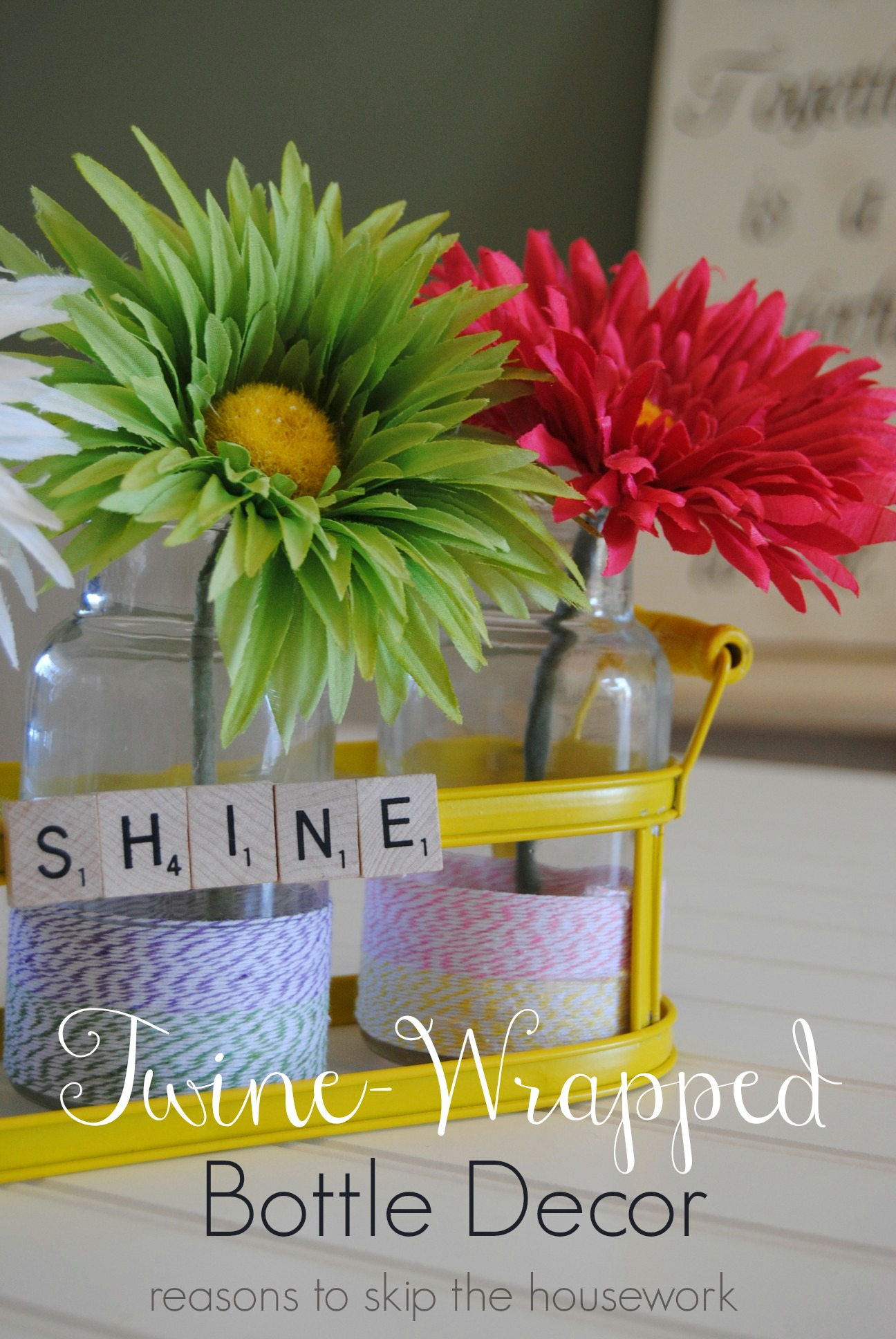 Simple Centerpiece - Reasons to Skip the Housework