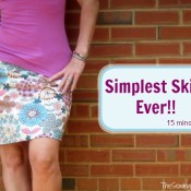 Simple Skirt from the Sewing Loft