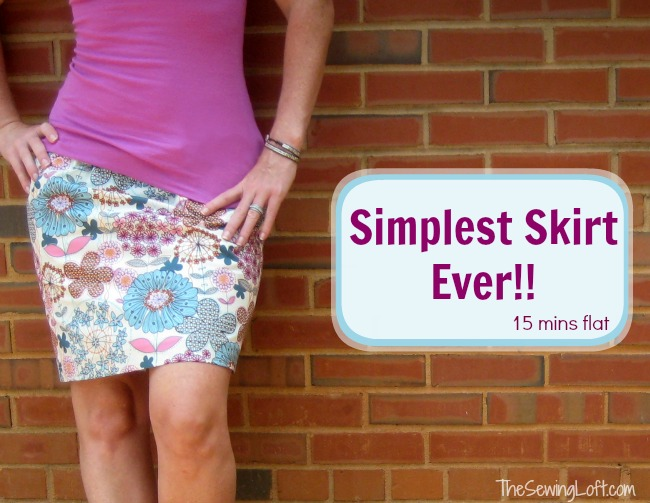 Easy Skirt Sewing Patterns 21