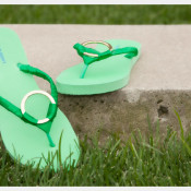 Upscale Flip Flops from Trinkets in Bloom