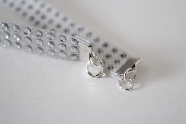 add clasps with jump rings