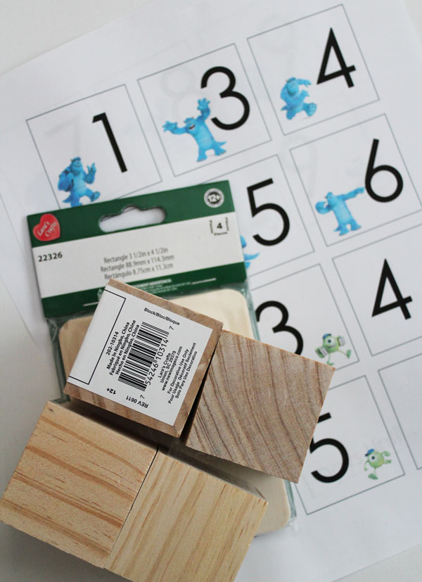 count down block supplies
