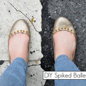 studded ballet flats by stars for streetlights