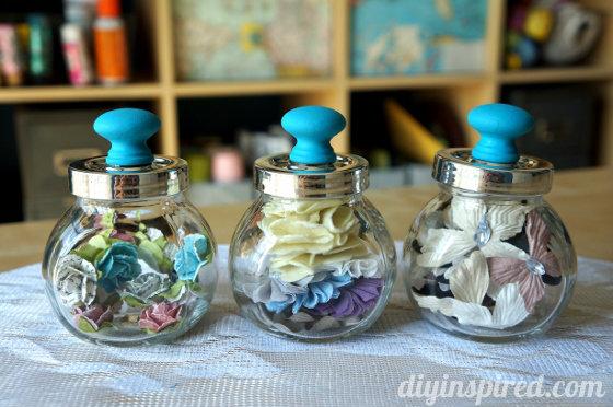Craft Storage Jars - DIY Inspired