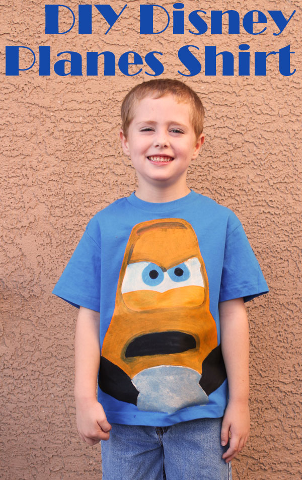 DIY Disney Planes Shirt