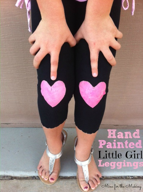 Hand Painted Leggings - Mine for the Making
