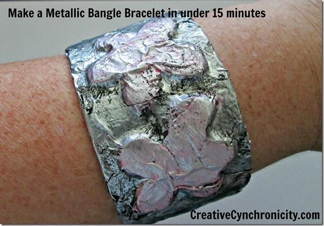 Metalic Bangle Bracelet - Creative Cyncronicity