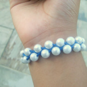 Simple Pearl Bracelet - Cute DIYs