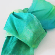 Tulip Spray dye Scarf