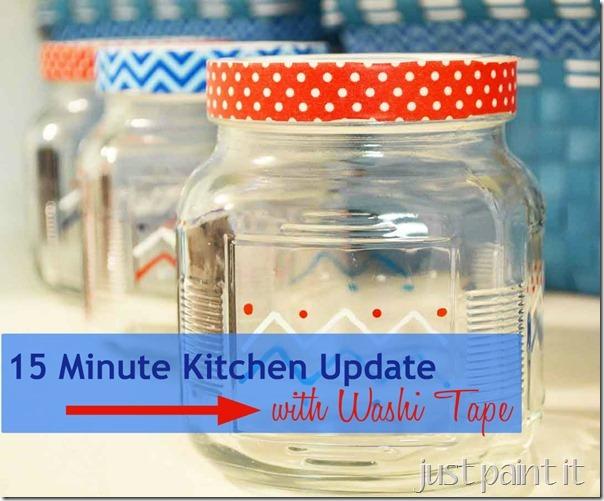 Washi Tape-Kitchen-Update - Mural Maker 1