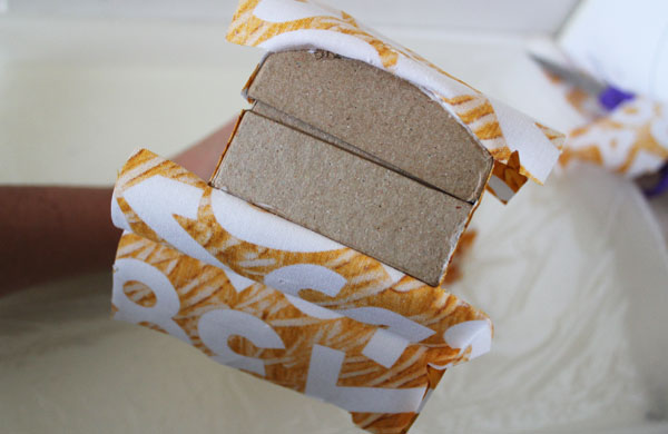 attach fabric to sides