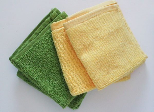 washcloths for puppets