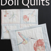 30 minute doll quilts