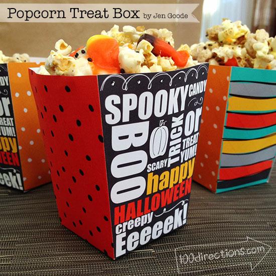 Popcorn Treat Box - 100 Directions