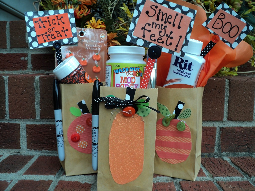 Spooky Treat Bags by Laura Kelly Designs
