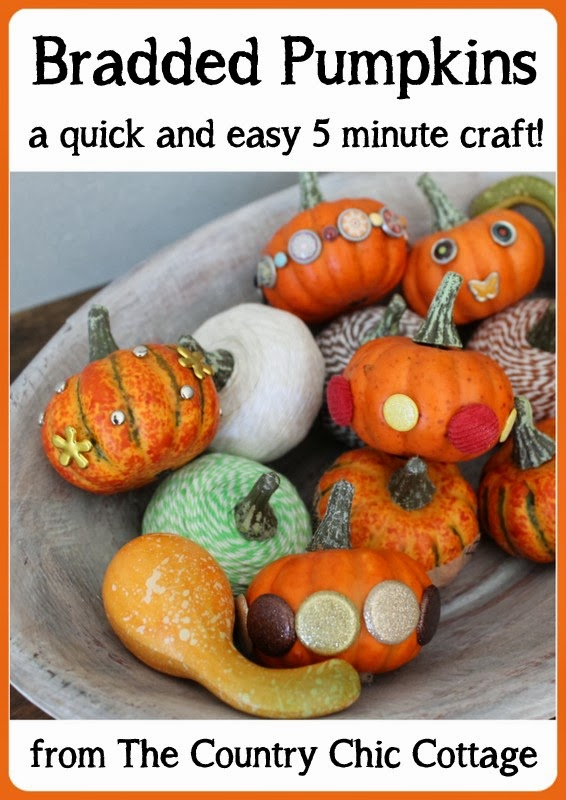 bradded pumpkins - The Country Chic Cottate