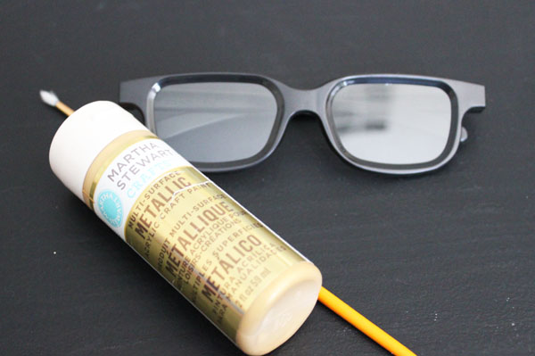 paint sunglasses