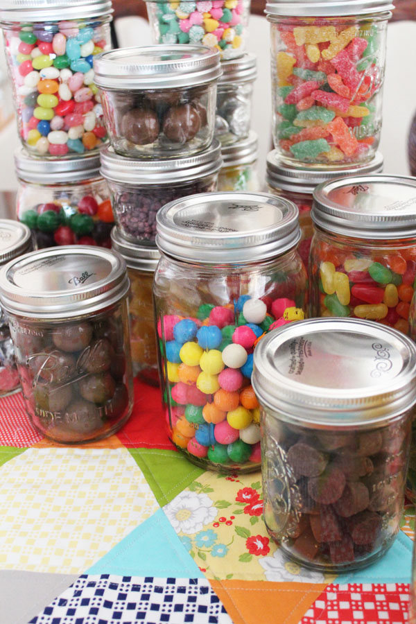 Stacks Of Candy In Mason Jars 30 Minute Crafts