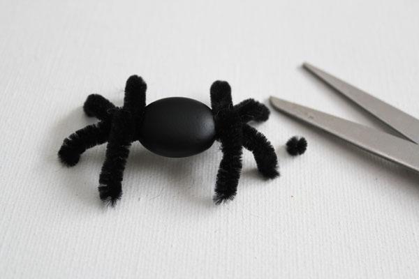 trim spider legs