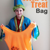 15 Minute Trick or Treat Bag