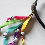 Dia De Los Muertos Headband tutorial on 30 Minute Crafts