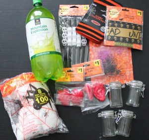 Dollar General Items for Halloween Table