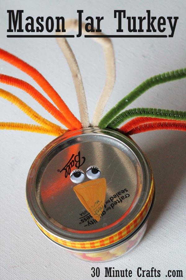 Mason Jar Turkey