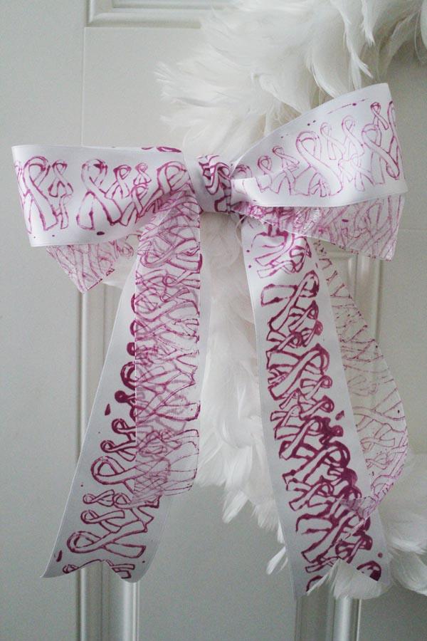 Pink ribbon ribbon
