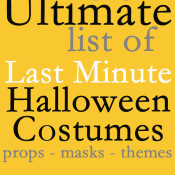 The Ultimate List of Last Minute Halloween Costumes at 30 Minute Crafts