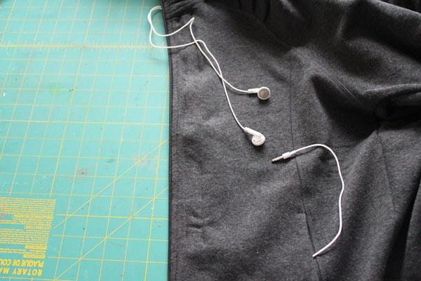 finished ear bud hoodie
