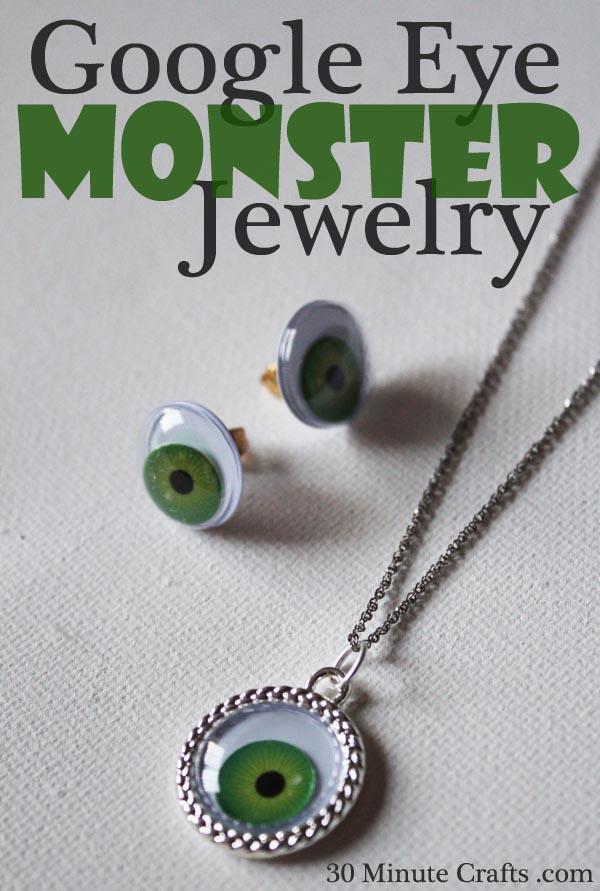 google eye monster jewelry