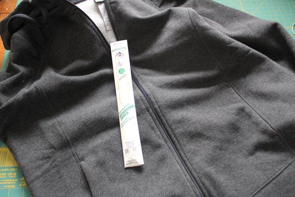 hoodie and zipper