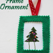 Felt Frame Ornament