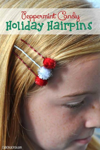 Holiday Hairpins - Chica Circle