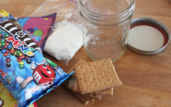 Mason Jar Gingerbread House Supplies