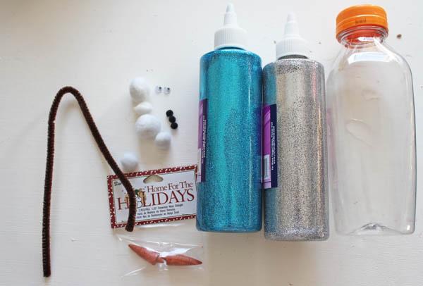 Olav in a bottle supplies