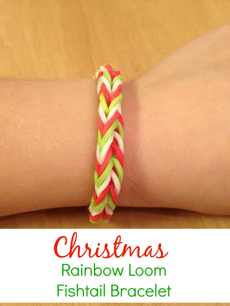 Rainbow Loom Fishtail Bracelet - Dreamsiclesisters