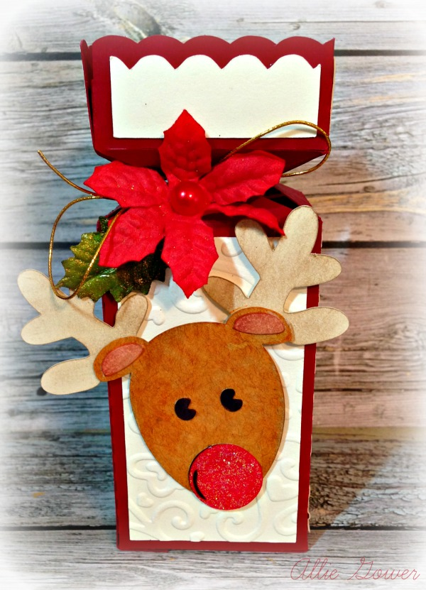 Reindeer Gift Box at a Little Craft in Your Day