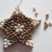 Shell Star Ornament at 30 Minute Crafts