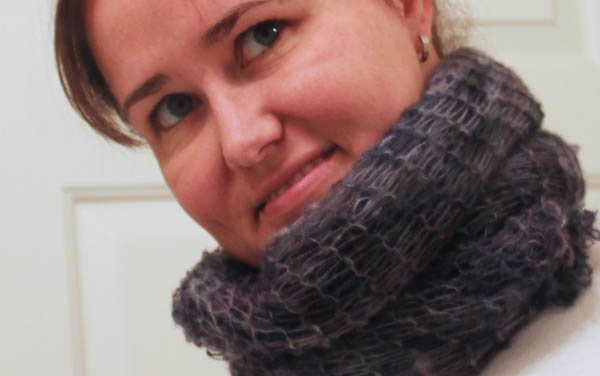 easy to make no knit scarf