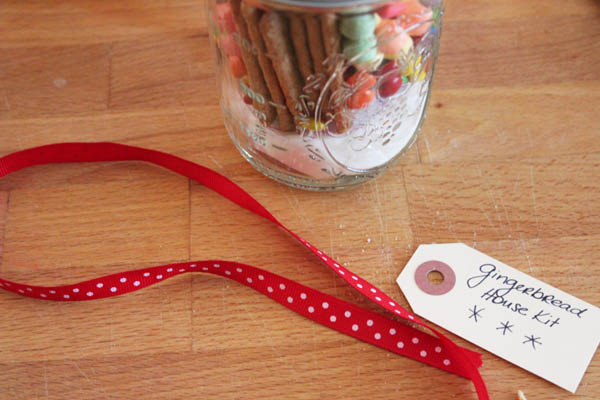 label and ribbon